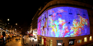 Mapping Géant façade LCL